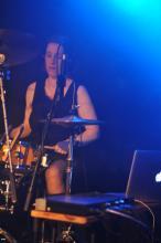 Drummerin - Andrea Müller